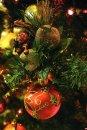 Karácsonyi üdvőzlőlap - 115x170 mm - oldalra nyitható