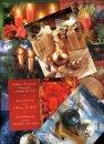 Karácsonyi képeslap - LC6 méretű - különböző mintákkal - 8-10-12 darabok