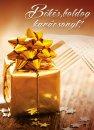 Karácsonyi képeslap - 105x145 mm - egylapos - 10 db/csomag