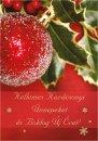 Karácsonyi képeslap - 105x145 mm - belül üres